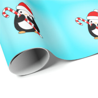 Billy the Penguin Wrapping Paper