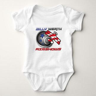 Billy Werth Airshows Baby Bodysuit