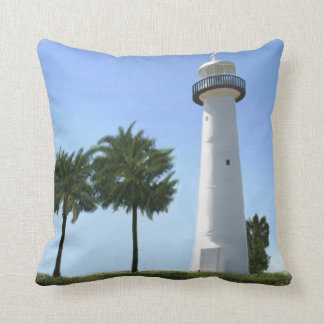 biloxi lighthouse cushion