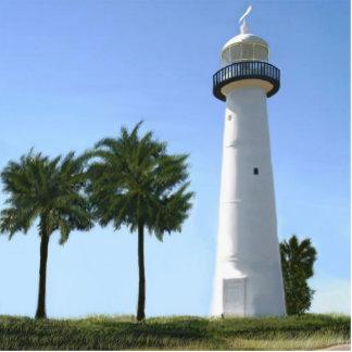 Biloxi lighthouse print photo sculpture decoration