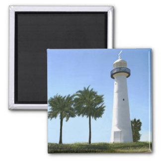 biloxi lighthouse square magnet