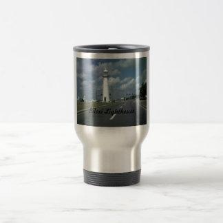 Biloxi Lighthouse Stainless Steel Travel Mug