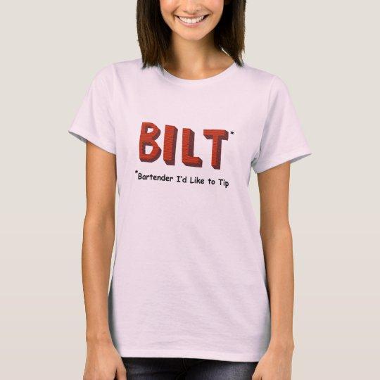 BILT Bartender women's T-shirt