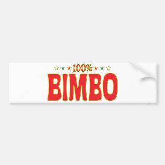 Bimbo Star Tag Bumper Stickers