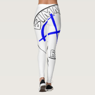 """Bimmer Baby"" Ladies - Track Fashion Leggings"