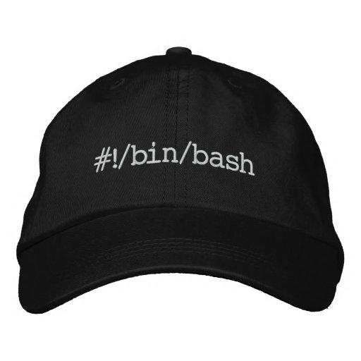 #!/bin/bash embroidered baseball caps