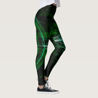 Binary 1010 leggings
