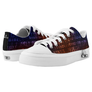 Binary 1010 low tops