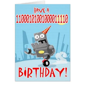 Binary Birthday Card