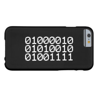 BINARY BRO BARELY THERE iPhone 6 CASE
