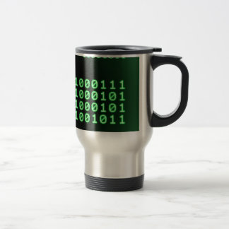 Binary code for GEEK Stainless Steel Travel Mug