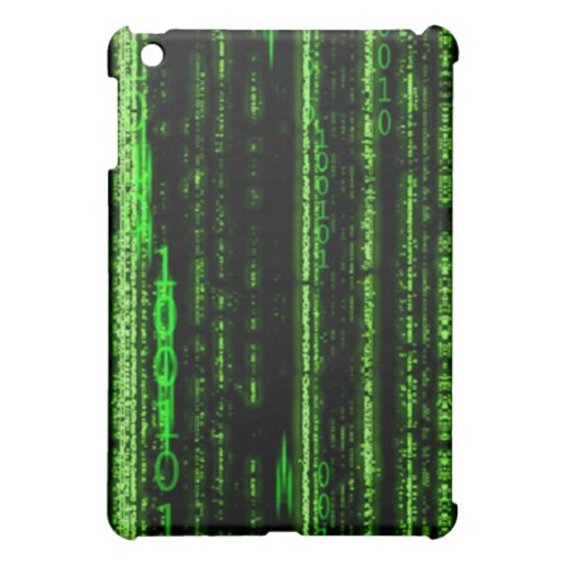 Binary Code iPad Case