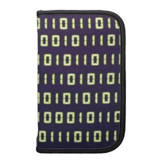Binary Code Smartphone Folios Planners