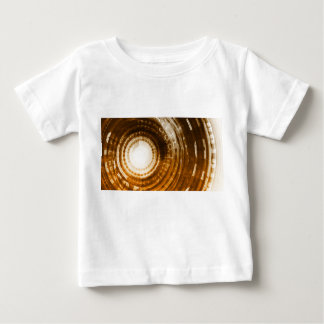 Binary Data Abstract Background for Digital Baby T-Shirt