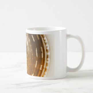 Binary Data Abstract Background for Digital Coffee Mug