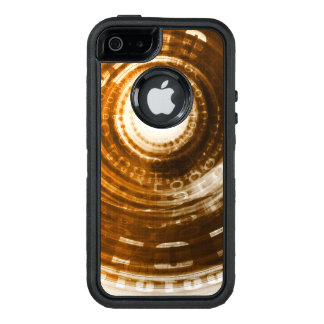 Binary Data Abstract Background for Digital OtterBox Defender iPhone Case