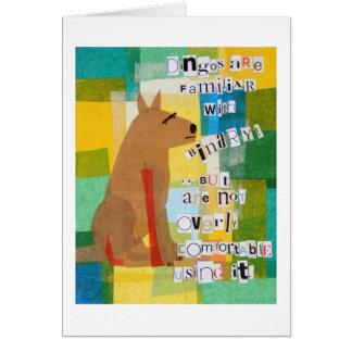 Binary Dingo Card