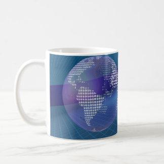 Binary Earth Coffee Mug