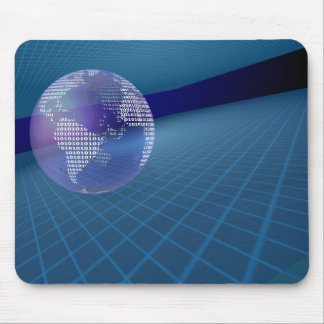 Binary Earth Mouse Pad