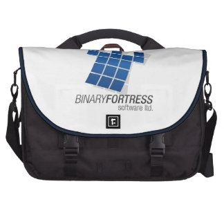 Binary Fortress Laptop Bag
