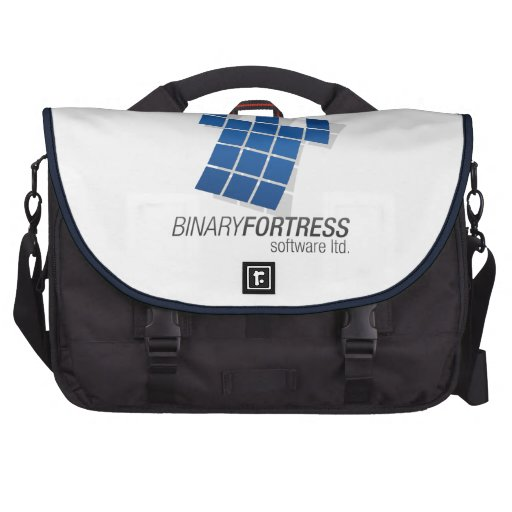 Binary Fortress Laptop Bag