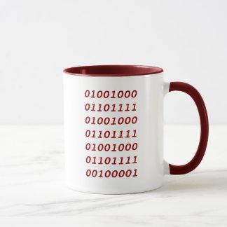 Binary Ho Ho Ho! Mug