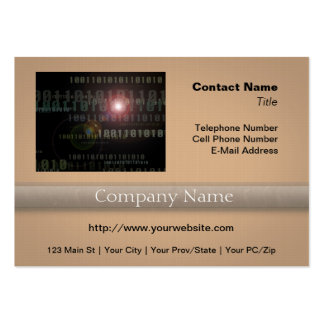 Binary IT Professional Pack Of Chubby Business Cards