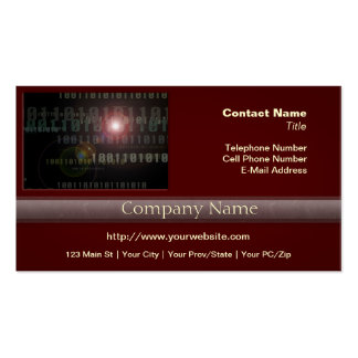 Binary IT Professional Pack Of Standard Business Cards