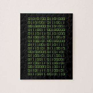Binary jigsaw puzzle