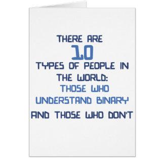 binary joke greeting card