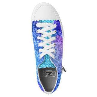 Binary Low Top Shoe Printed Shoes