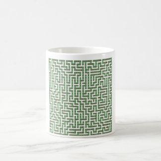 Binary maze coffee mug