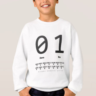binary number system: computer: engineer sweatshirt