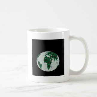 Binary Planet - digital world Coffee Mug