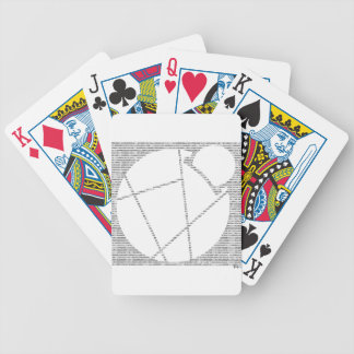 Binary Reddcoin Bicycle Playing Cards