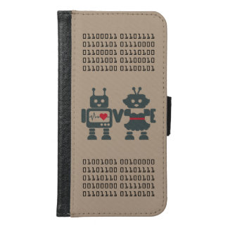Binary Robot Phone Case - Compatible I Love You