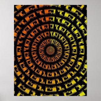 Binary Vortex poster