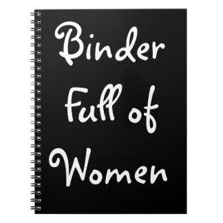 Binder Full of Women Notebook