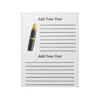 Binder Notebook Note Pad Insert