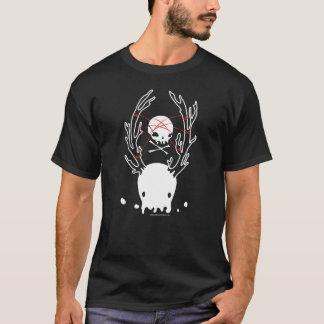 Binder Shirt Creepy deer jellyfish skull rope