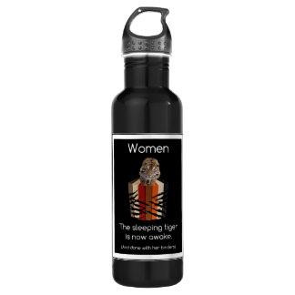 Binders Full of Women Sleeping Tiger 710 Ml Water Bottle