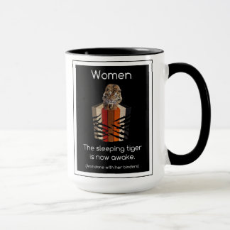 Binders Full of Women Sleeping Tiger Gifts Mug