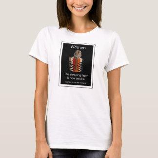 Binders Full of Women Sleeping Tiger Gifts T-Shirt