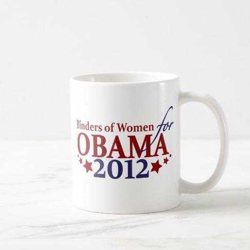 Binders of Women for Obama 2012 Coffee Mug