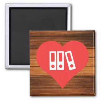 Binders Symbol Square Magnet
