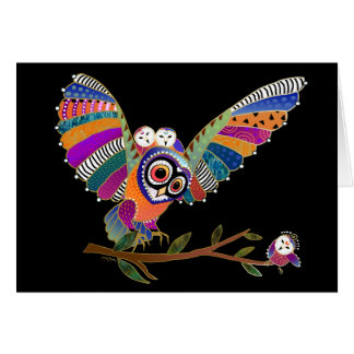BINDI BARN OWLS art cards