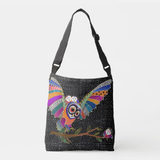 BINDI BARN OWLS crossbody or tote bags