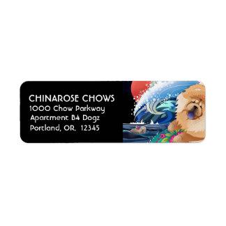 BINDI CHOWABUNGA- Return Address Labels Customise