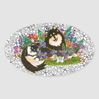 BINDI  Finnish Lapphund stickers
