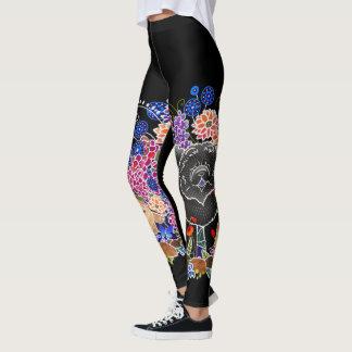 BINDI GARDEN PARTY - Designer Leggings